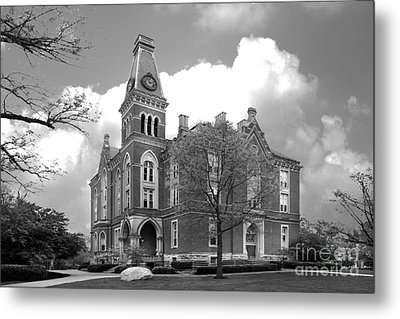 De Pauw University East College Metal Print by University Icons