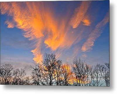 December Sunrise Metal Print by Jay Nodianos