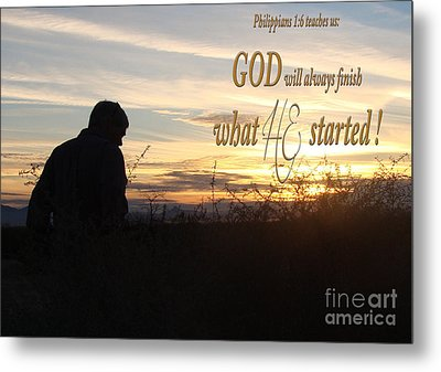 Declare Gods Word Metal Print by Beverly Guilliams