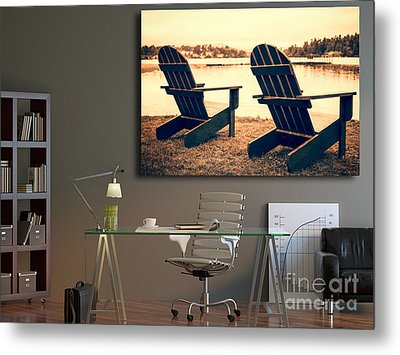 Decorating With Fine Art Photography Metal Print by Edward Fielding