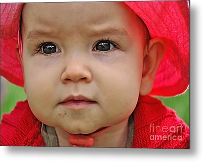 Deep In Thought Metal Print by Kaye Menner