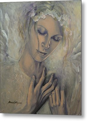 Deep Inside Metal Print by Dorina  Costras