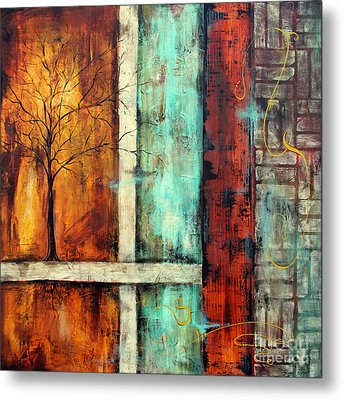 Deep Roots-a Metal Print by Jean Plout
