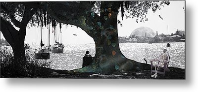 Deeply Rooted Metal Print by Betsy C Knapp