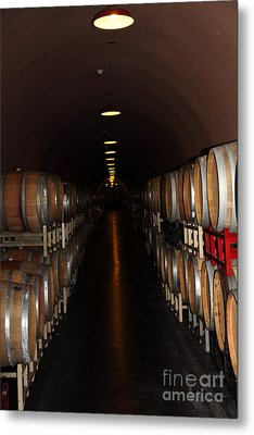 Deerfield Ranch Winery 5d22215 Metal Print by Wingsdomain Art and Photography
