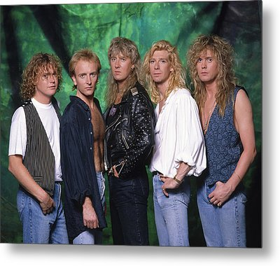 Def Leppard - 15 Months Of Rock 1987 Metal Print by Epic Rights