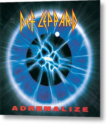 Def Leppard - Adrenalize 1992 Metal Print by Epic Rights