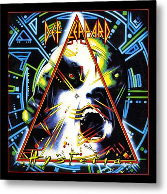 Def Leppard - Hysteria 1987 Metal Print by Epic Rights
