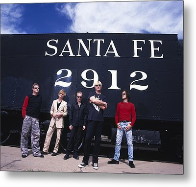Def Leppard - Santa Fe 1999 Metal Print by Epic Rights