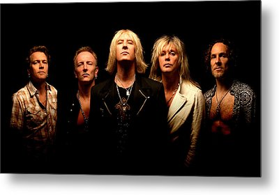 Def Leppard - Sparkle Lounge Tour 2008 Metal Print by Epic Rights