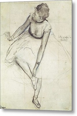 Degas, Edgar 1834-1917. A Dancer Metal Print by Everett