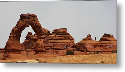 Delicate Arch Bryce Canyon Metal Print by Bruce Bley
