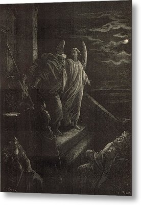 Deliverence Of St. Peter Metal Print by Antique Engravings