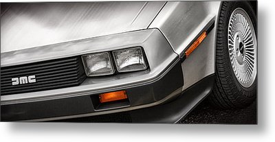 Delorean Dmc-12 Metal Print by Gordon Dean II