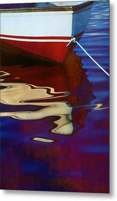 Delphin 2 Metal Print by Laura Fasulo