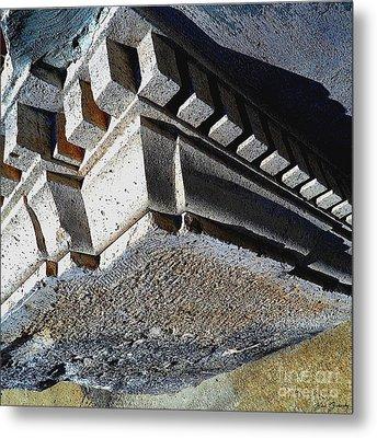 Dent Espace La Verite Trebuche Sur La Place Publique Metal Print by Contemporary Luxury Fine Art