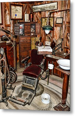 Dentist - The Dentist Chair Metal Print by Paul Ward
