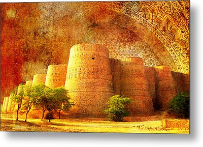 Derawar Fort Metal Print by Catf