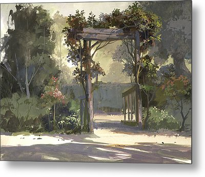 Descanso Gardens Metal Print by Michael Humphries