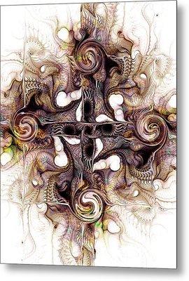 Desert Cross Metal Print by Anastasiya Malakhova