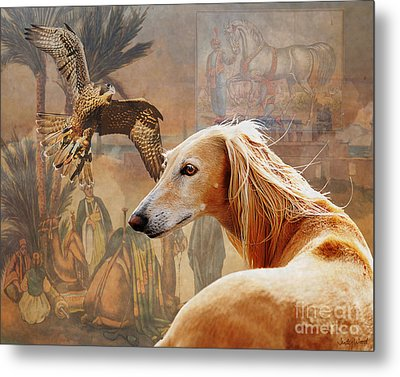 Desert Heritage Metal Print by Judy Wood