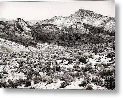 Desert Peaks Metal Print by John Rizzuto