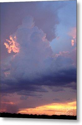 Desert Rainstorm 5 Metal Print by Kerri Mortenson