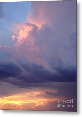 Desert Rainstorm 6 Metal Print by Kerri Mortenson