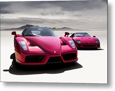 Desert Showdown Metal Print by Douglas Pittman