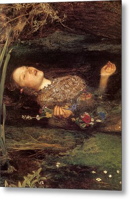 Detail From Ophelia Metal Print by Philip Ralley