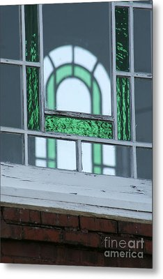 Details In Green At St. John Metal Print by Jennifer Apffel