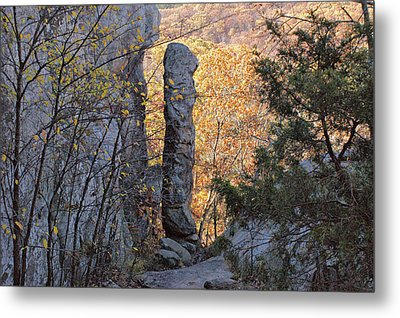 Devil's Smokestack -- Shawnee Metal Print by Sandy Keeton