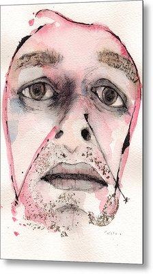 Dexter Morgan As The Dark Passenger Metal Print by Mark M  Mellon