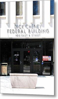 Dick Cheney Federal Bldg. Metal Print by Oscar Williams