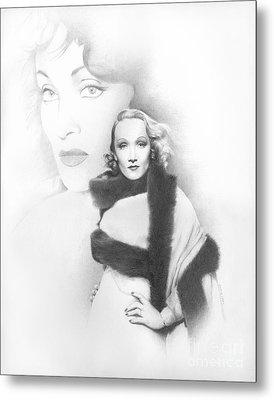 Dietrich Metal Print by TPD Art