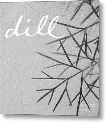 Dill Metal Print by Linda Woods