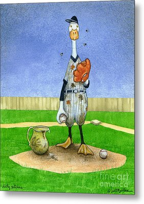 Dirty Pitchers... Metal Print by Will Bullas