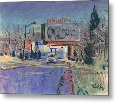 Discount Tire Metal Print by Donald Maier