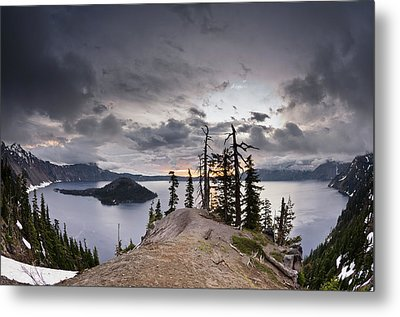 Discovery Point At Dawn Metal Print by Greg Nyquist