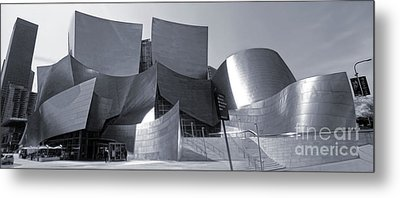 Disney Concert Hall - 02 Metal Print by Gregory Dyer