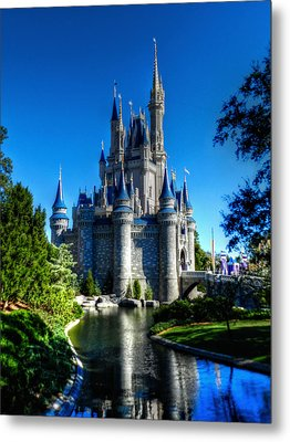 Disney Hdr 002 Metal Print by Lance Vaughn
