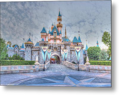 Disney Magic Metal Print by Heidi Smith
