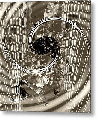 Disorder Upgrade Metal Print by Florin Birjoveanu