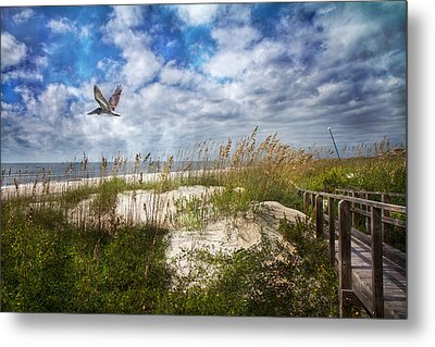 Divine Beach Day  Metal Print by Betsy C Knapp