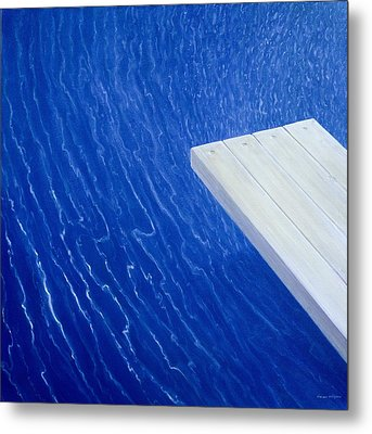 Diving Board 2004 Metal Print by Lincoln Seligman