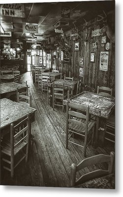 Dixie Chicken Interior Metal Print by Scott Norris