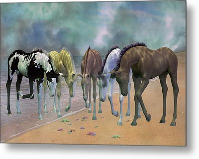 Do You See Stars Metal Print by Betsy C Knapp