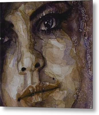 Do You Think Of Her When Your With Me Metal Print by Paul Lovering