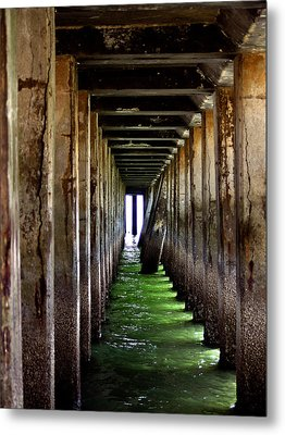 Dock Of The Bay Metal Print by Bill Gallagher
