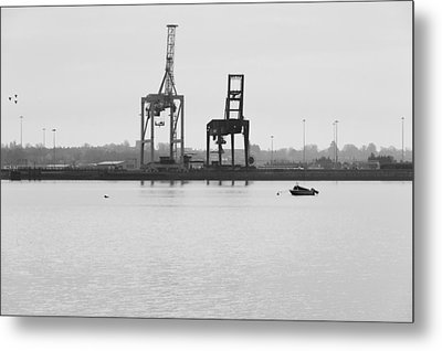 Docks Metal Print by Svetlana Sewell